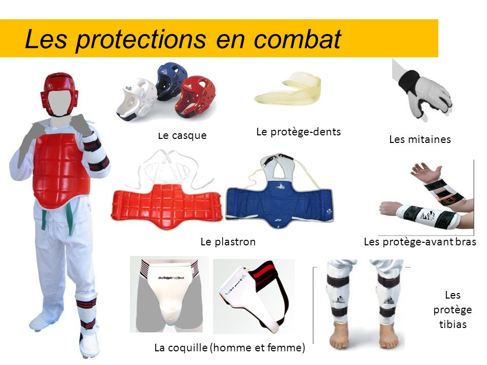 Les protections en combat