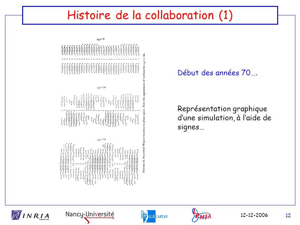 Histoire de la collaboration (1)