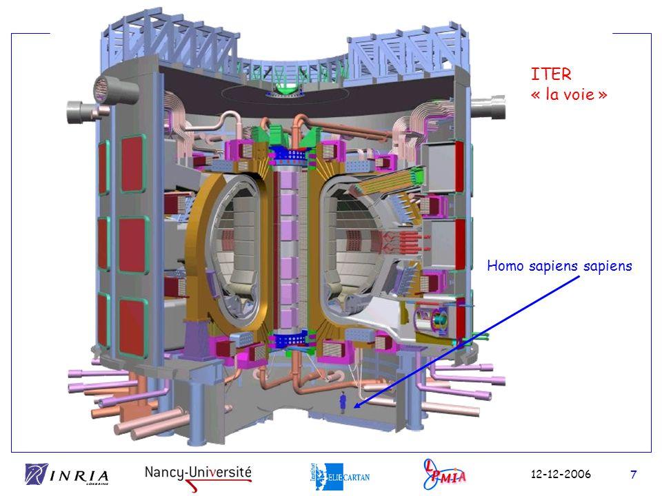 ITER « la voie » Homo sapiens sapiens