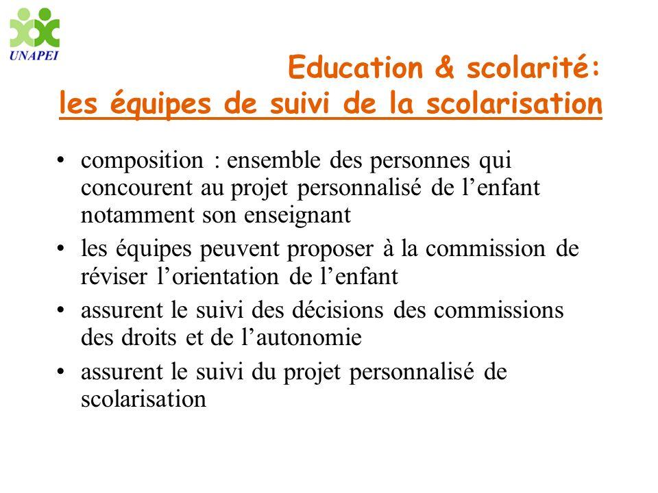 Education & scolarité: les équipes de suivi de la scolarisation