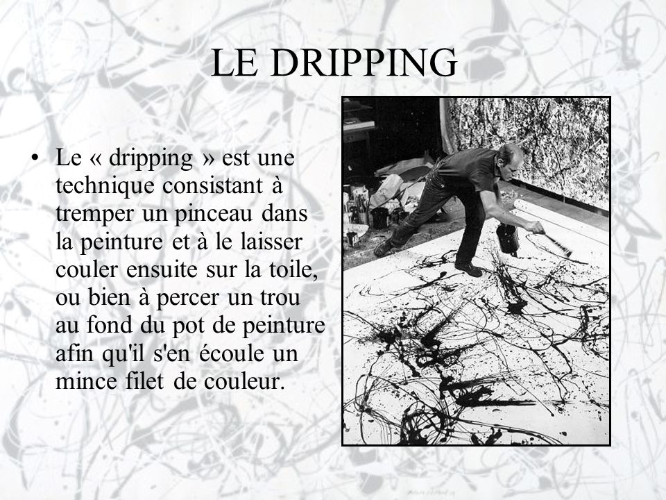 LE DRIPPING