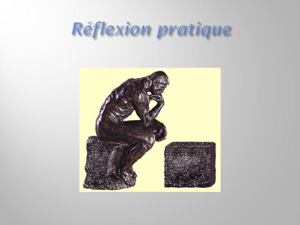 Réflexion pratique