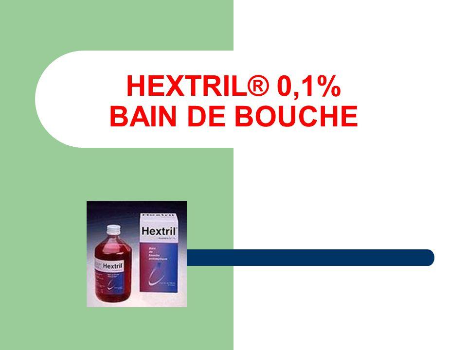 HEXTRIL® 0,1% BAIN DE BOUCHE
