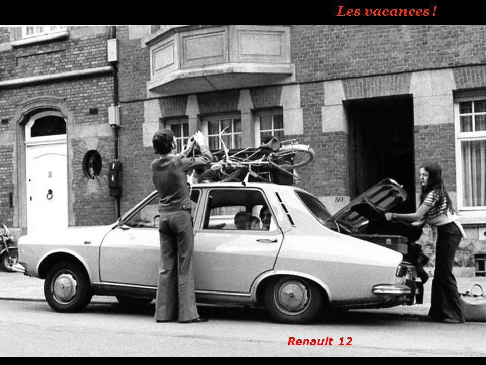 Les vacances ! Renault 12