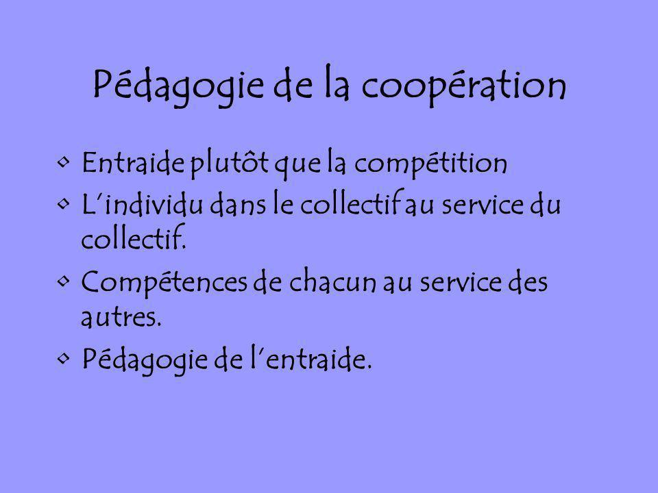 Pédagogie de la coopération
