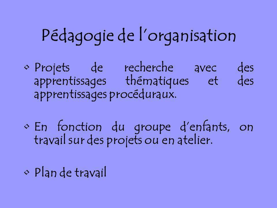Pédagogie de l'organisation