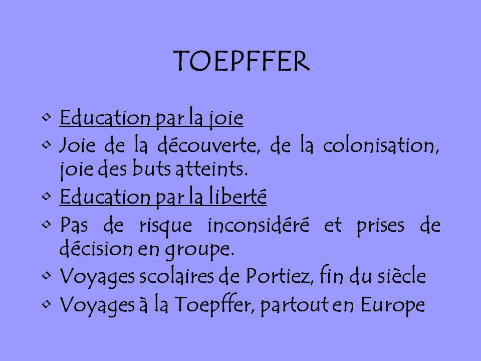 TOEPFFER Education par la joie