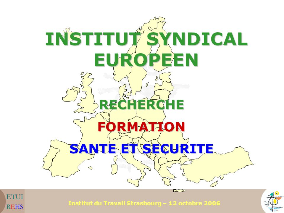 INSTITUT SYNDICAL EUROPEEN