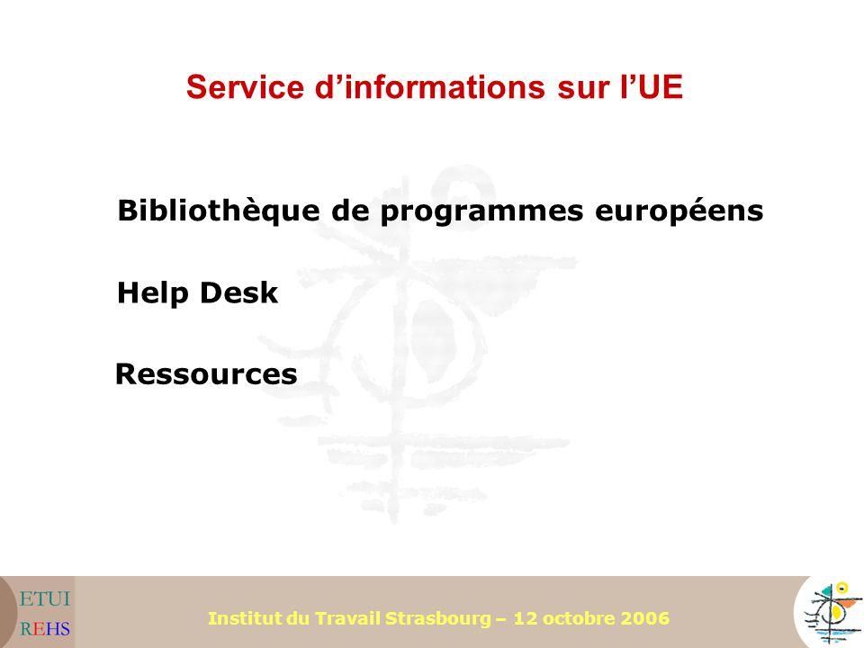 Service d'informations sur l'UE