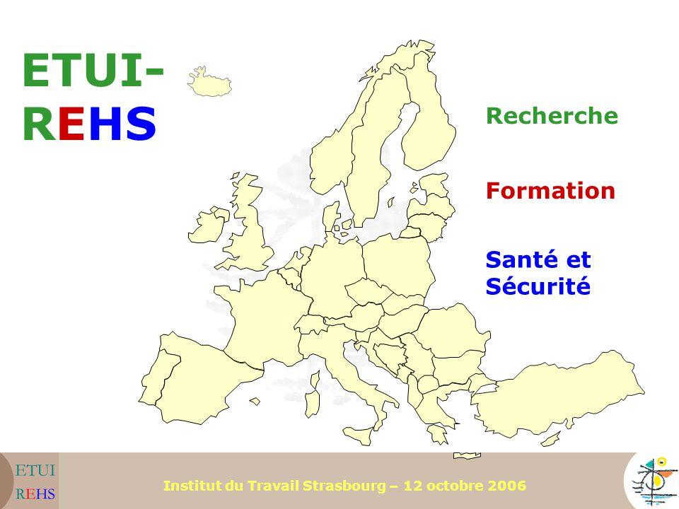 ETUI-REHS Recherche Formation Santé et Sécurité