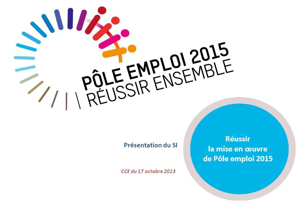 Réussir la mise en œuvre de Pôle emploi 2015