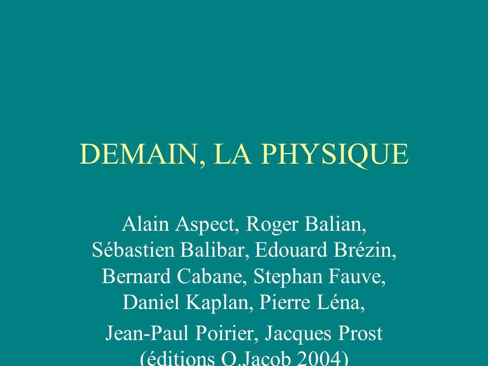 Jean-Paul Poirier, Jacques Prost (éditions O.Jacob 2004)