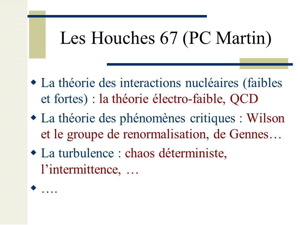 Les Houches 67 (PC Martin)