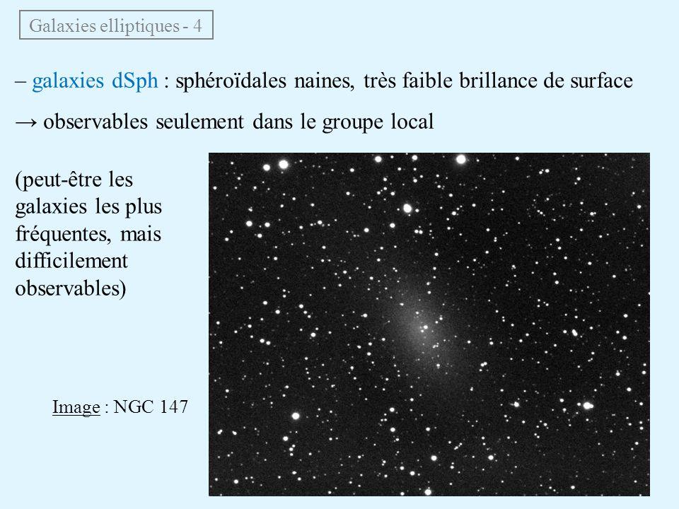 Galaxies elliptiques - 4
