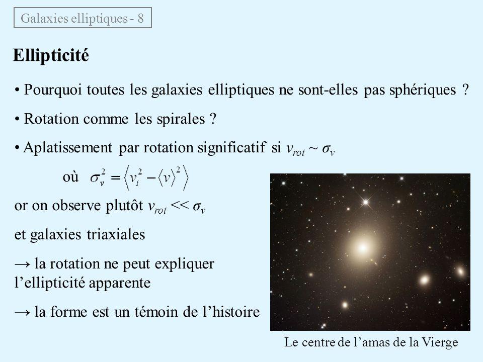 Galaxies elliptiques - 8