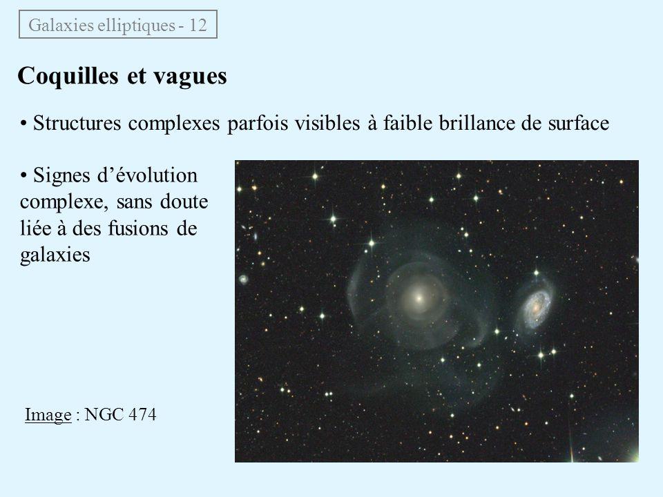 Galaxies elliptiques - 12