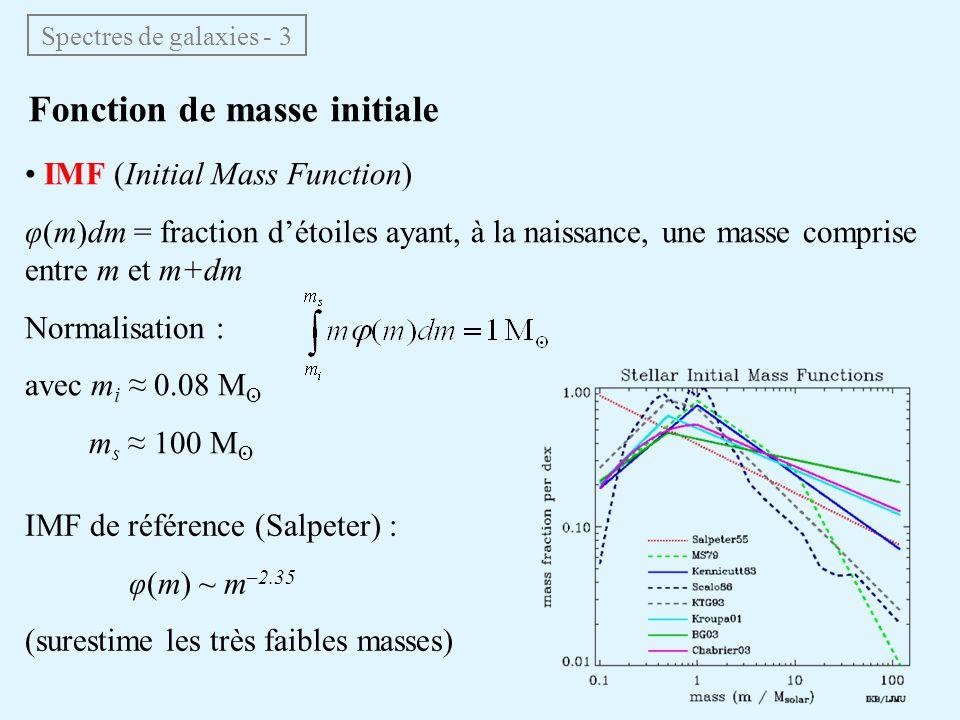 Fonction de masse initiale