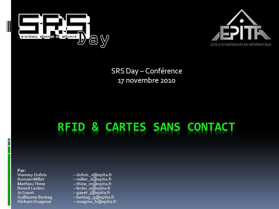 RFID & cartes sans contact
