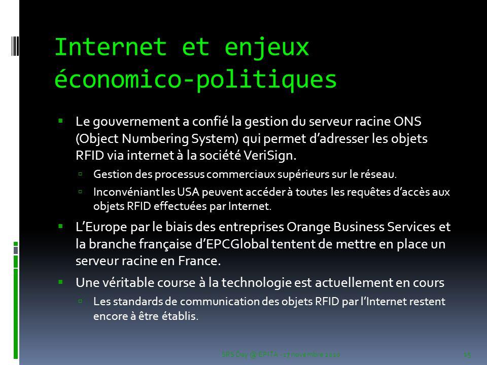Internet et enjeux économico-politiques