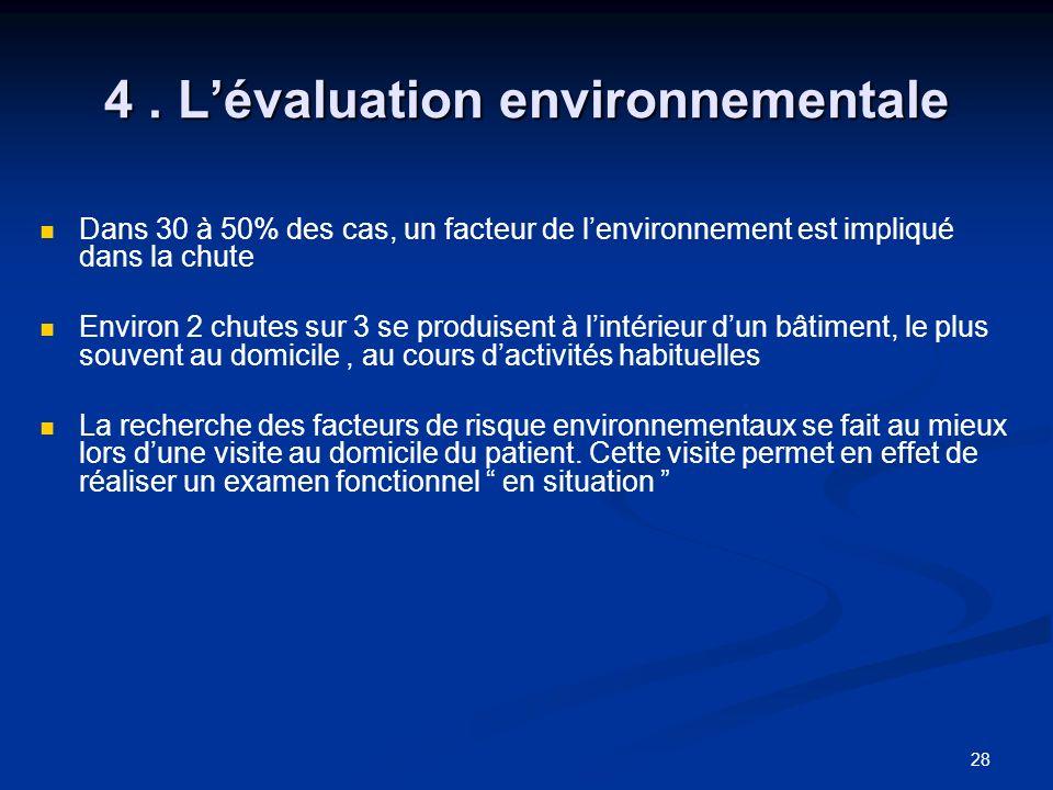 4 . L'évaluation environnementale