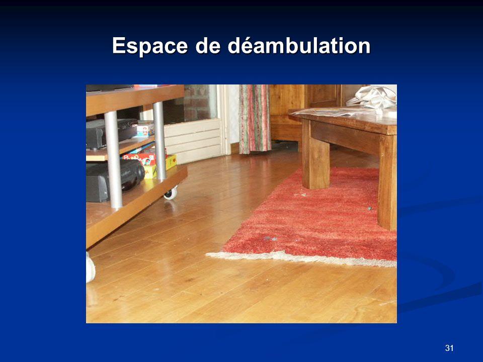 Espace de déambulation