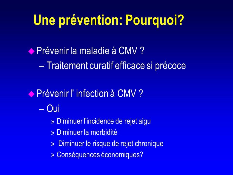 Une prévention: Pourquoi
