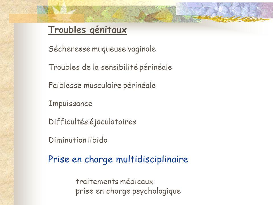 Prise en charge multidisciplinaire traitements médicaux