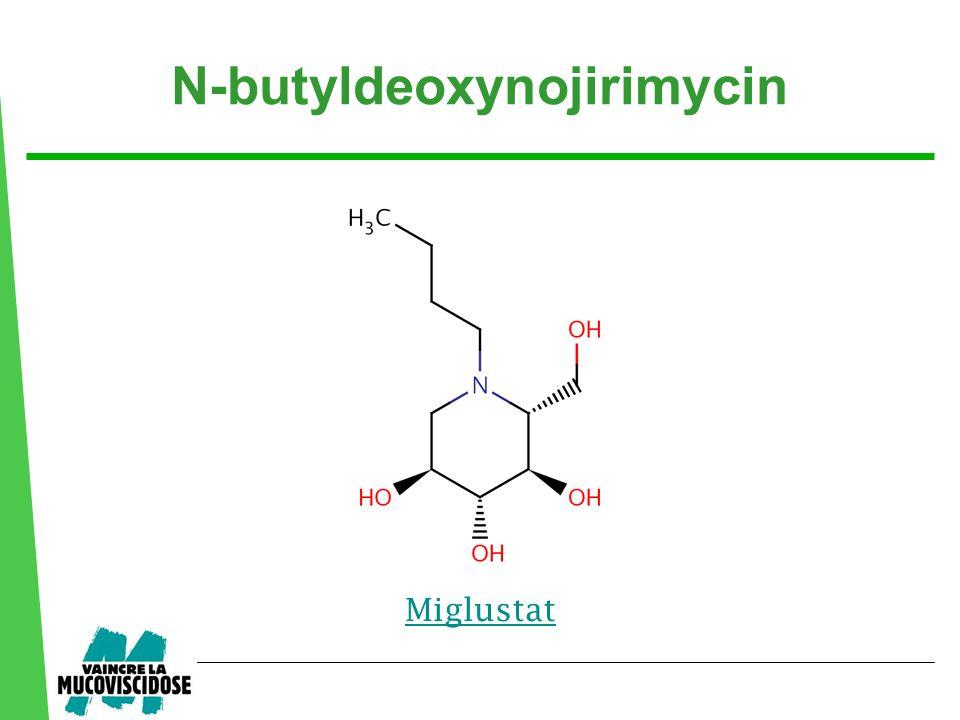 N-butyldeoxynojirimycin