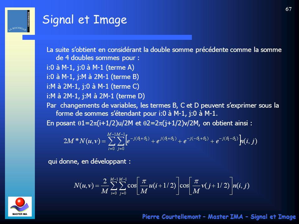 i:M à 2M-1, j:M à 2M-1 (terme D)