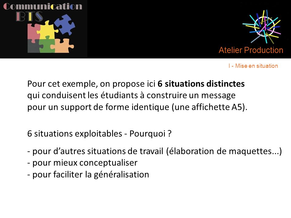 6 situations exploitables - Pourquoi