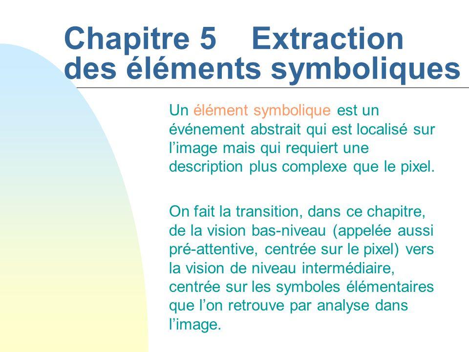 Chapitre 5 Extraction des éléments symboliques