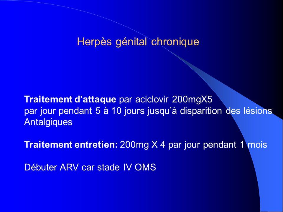 Herpès génital chronique