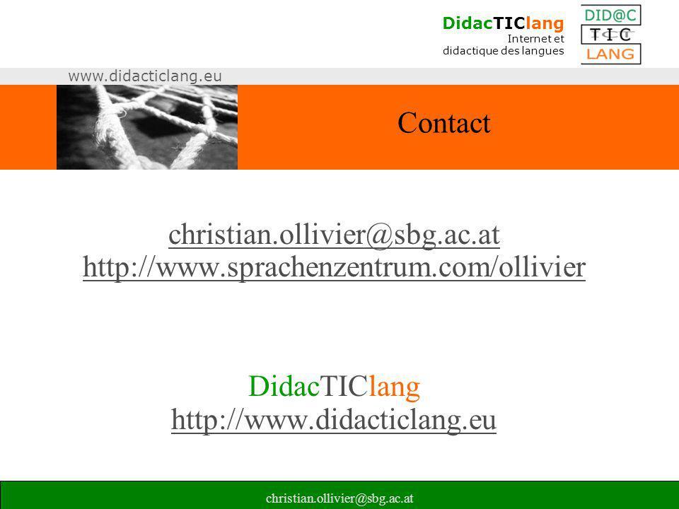 christian.ollivier@sbg.ac.at http://www.sprachenzentrum.com/ollivier