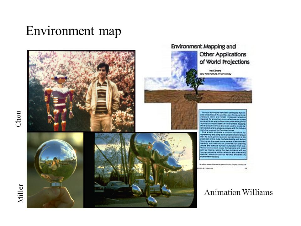 Environment map Chou Animation Williams Miller
