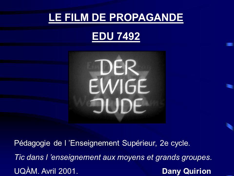 LE FILM DE PROPAGANDE EDU 7492