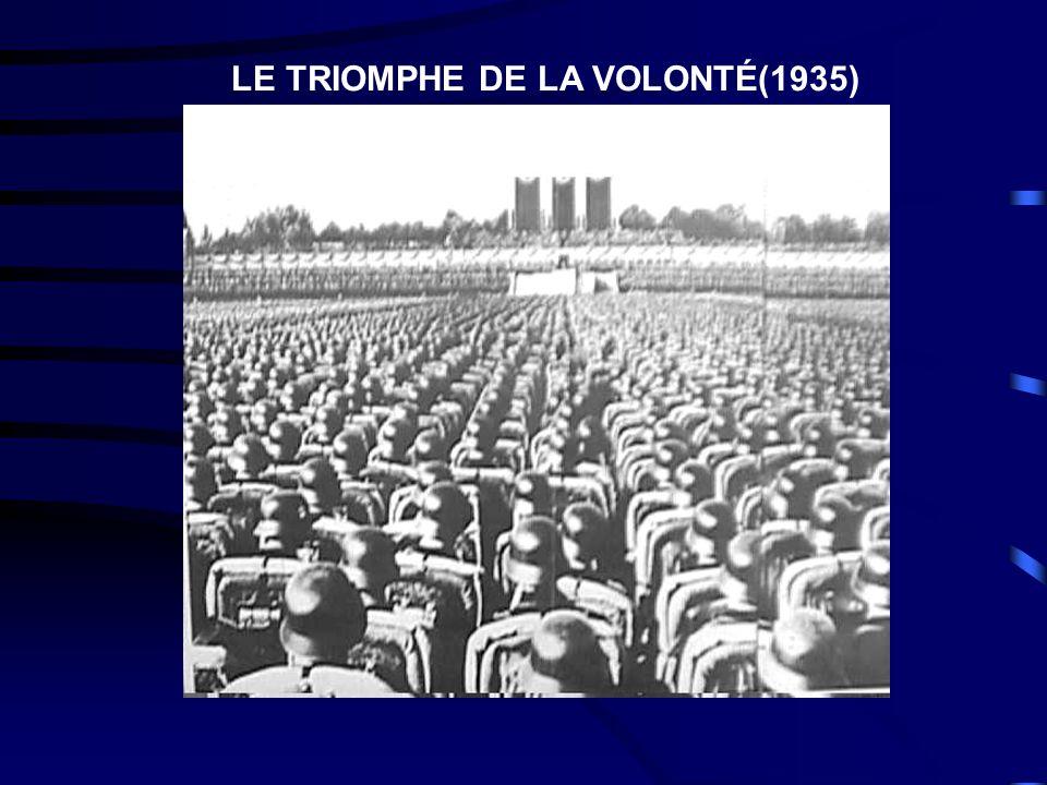 LE TRIOMPHE DE LA VOLONTÉ(1935)