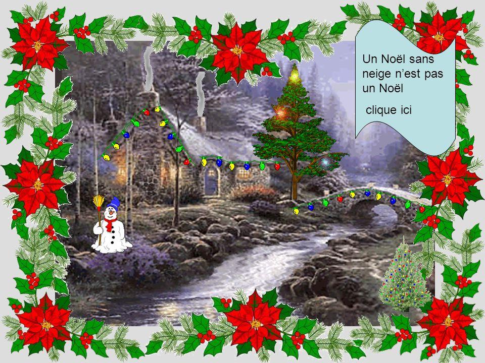 Un Noël sans neige n'est pas un Noël