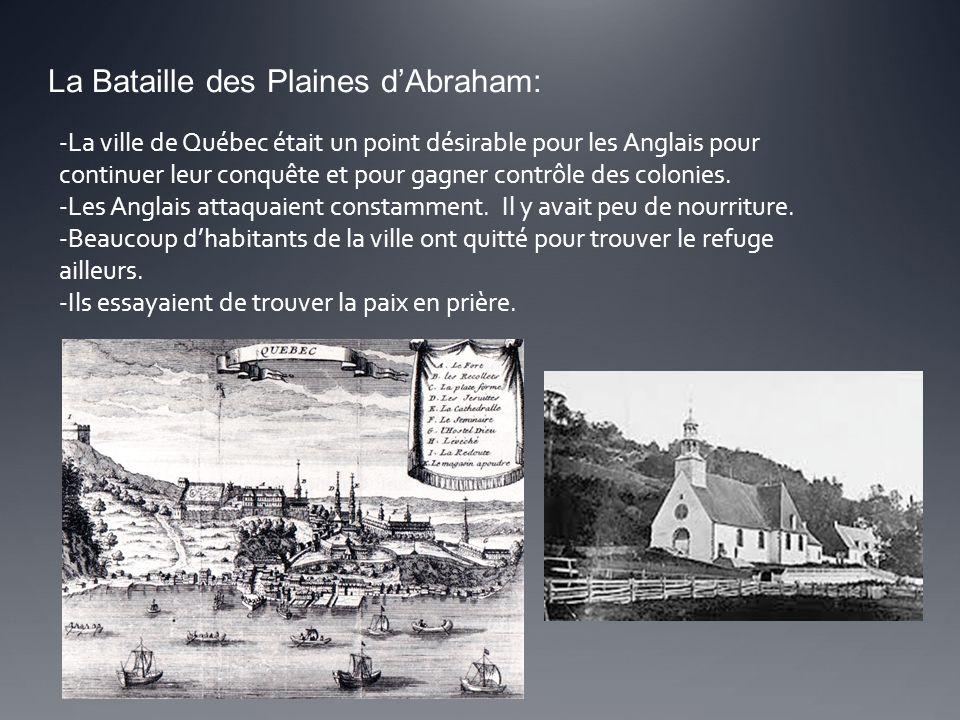 La Bataille des Plaines d'Abraham: