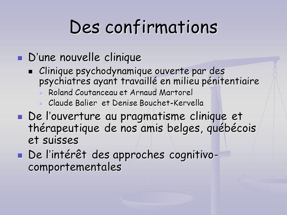 Des confirmations D'une nouvelle clinique