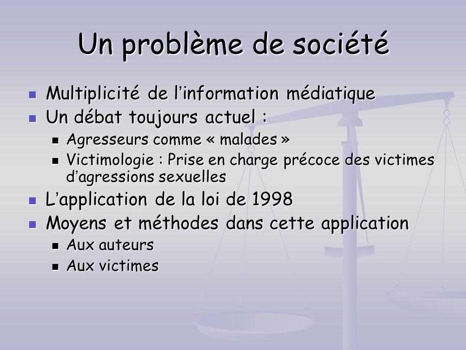 Un problème de société Multiplicité de l'information médiatique