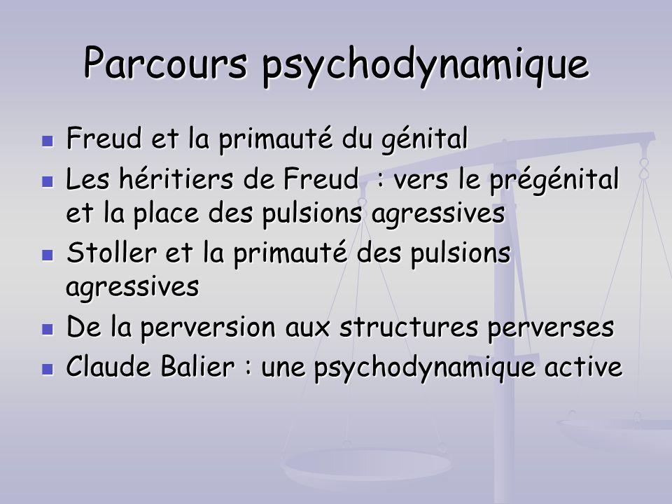 Parcours psychodynamique