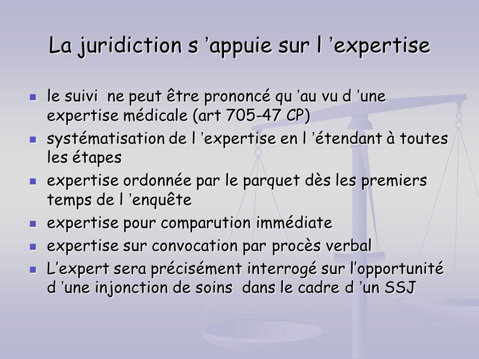 La juridiction s 'appuie sur l 'expertise