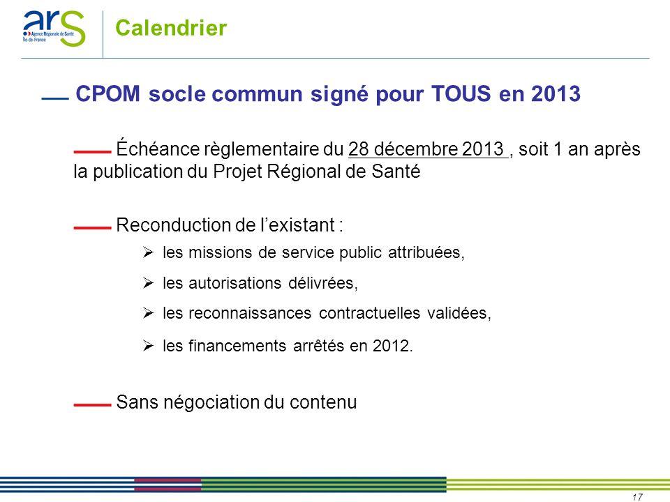 CPOM socle commun signé pour TOUS en 2013