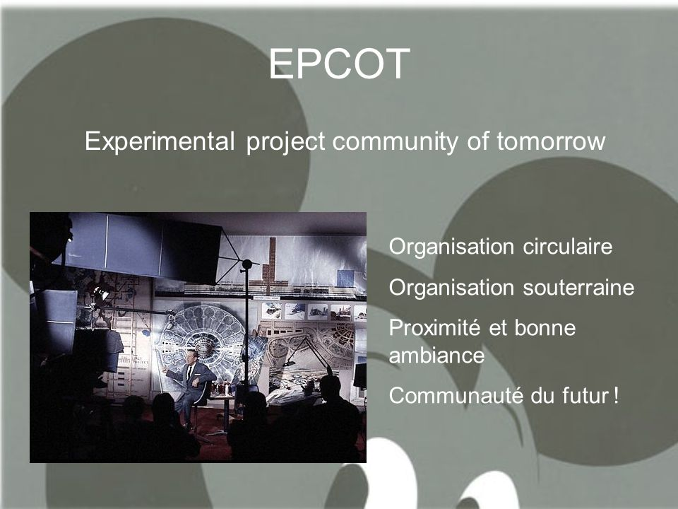 EPCOT Experimental project community of tomorrow