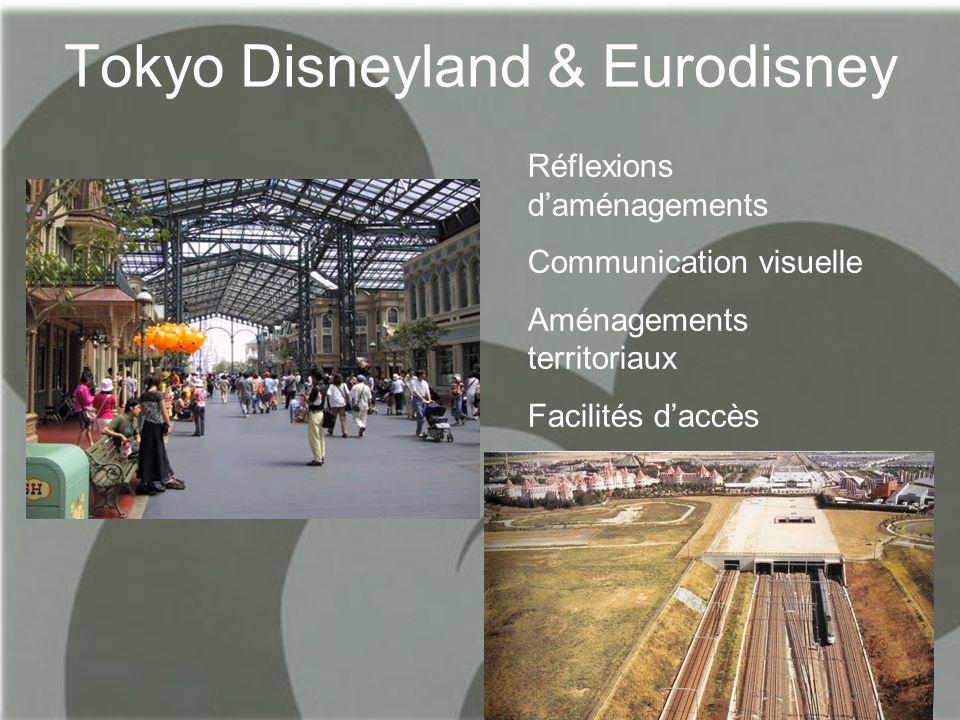 Tokyo Disneyland & Eurodisney