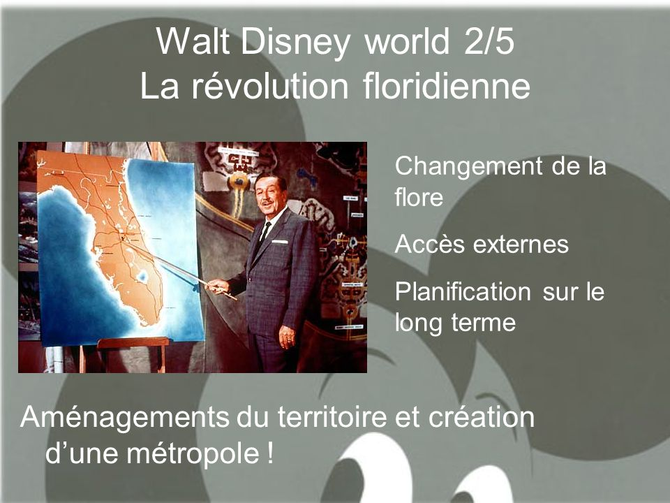 Walt Disney world 2/5 La révolution floridienne