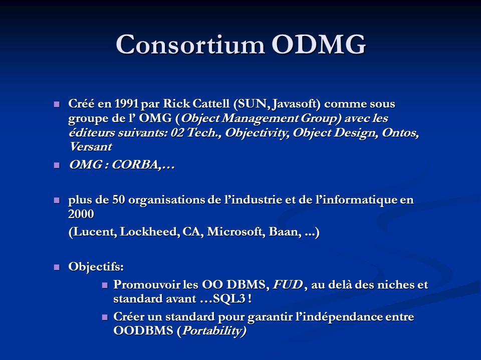 Consortium ODMG