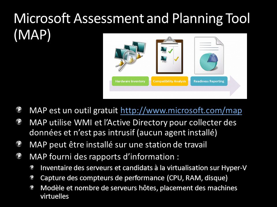Microsoft Assessment and Planning Tool (MAP)