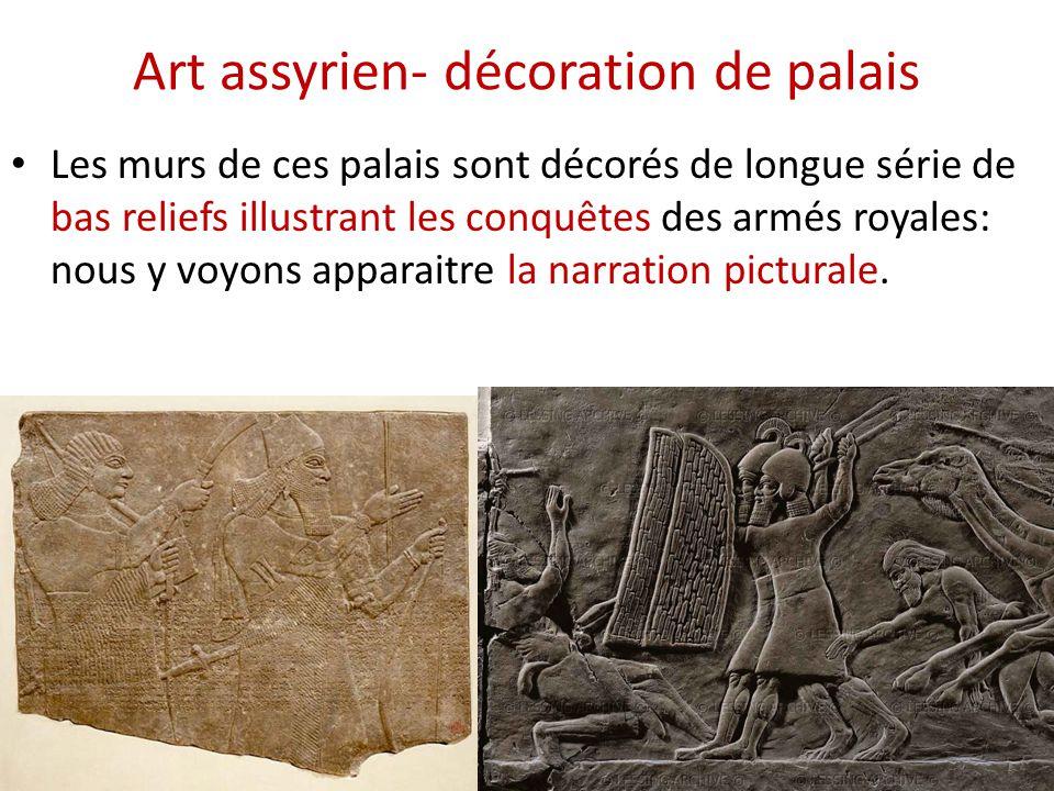 Art assyrien- décoration de palais