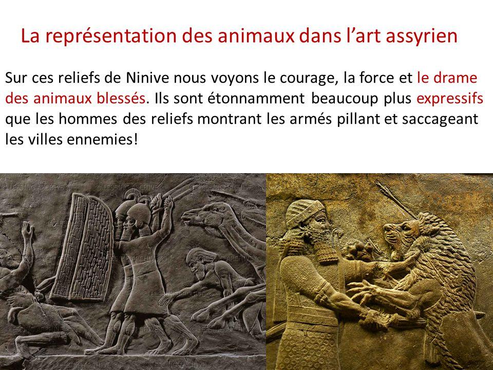 La représentation des animaux dans l'art assyrien